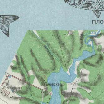 истринское водохранилище карта рыбака